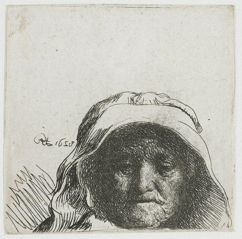 Rembrandt van Rijn Kupferstich