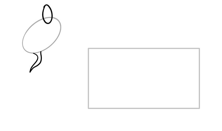 Ziege zeichnen 03