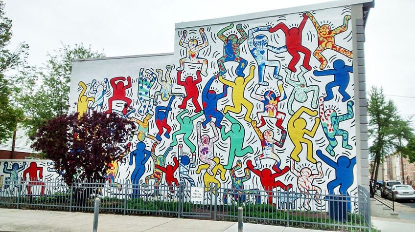 farbenpraechtige moderne kunst