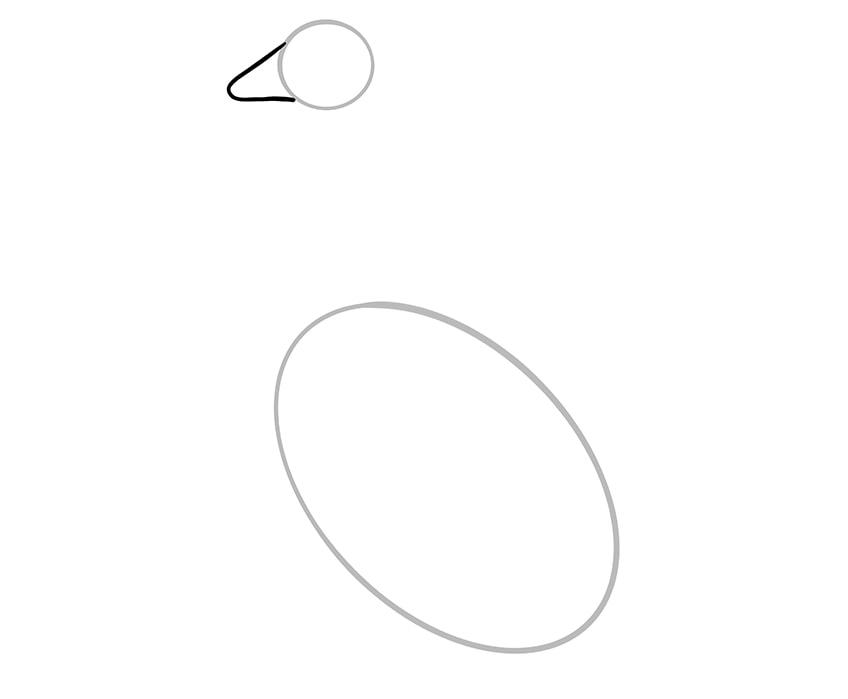 gans zeichnen 03