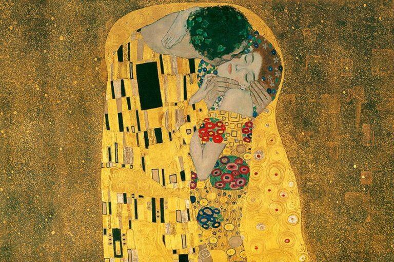 Der Kuss Gustav Klimt – Entstehungsgeschichte, Fakten und Hintergründe