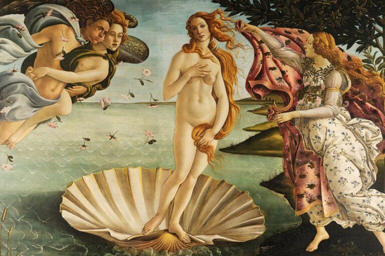 Die Geburt der Venus Botticelli – Entstehung, Fakten und HIntergründen
