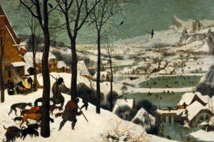 die jaeger im schnee