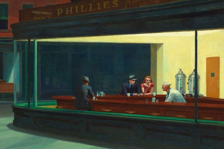 Nighthawks Edward Hopper – Kunstwerk unter der Lupe